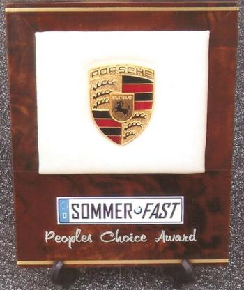 Porsche Sommerfast custom fabrication.