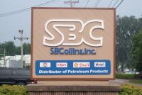 s.b.collins plant sign