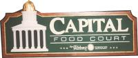 State Capitol Food Court sign w/23k dome