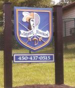 Rivenord dimensional sign.