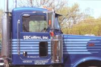 SB Collins truck lettering.